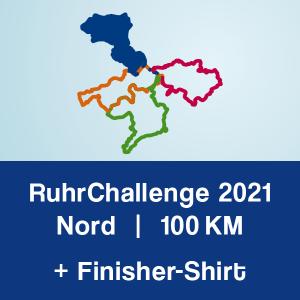 Produktbild RuhrChallenge Nord 2021 + Finisher-Shirt