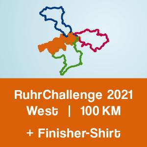 Produktbild RuhrChallenge West 2021 + Finisher-Shirt